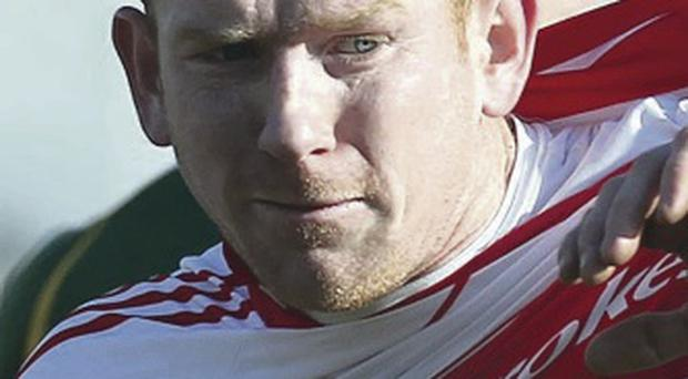 Back again: Fergal Doherty has returned to Derry's panel