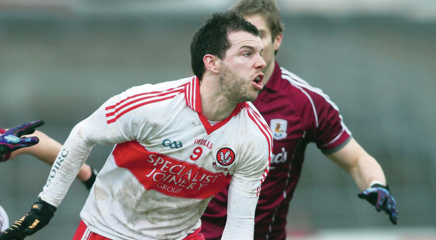 Derry's PJ McCloskey has returned from injury to boost the county's quest for success