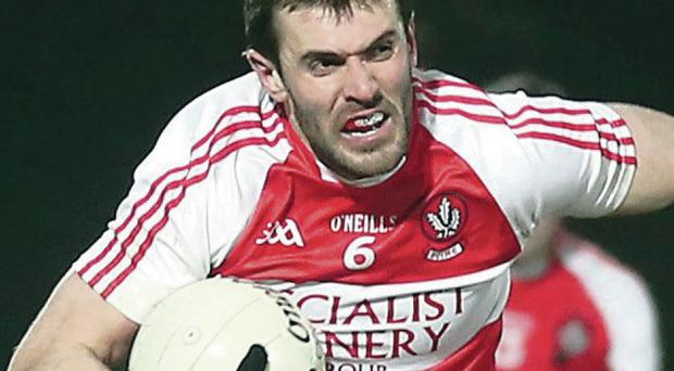 On the up: Mark Lynch has been a key man in the rise and rise of Derry's footballing fortunes of late