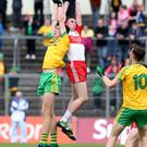 Reach for the top: Patrick Kearney with Michael Langan