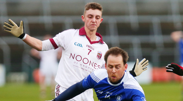 Title aim: Keelan Feeney has the All-Ireland crown in his sights
