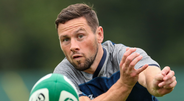 No go: John Cooney won't be playing for Ireland at the World Cup in Japan