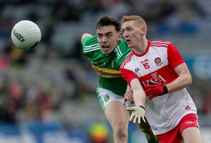 Eye on the ball: Derry's Christopher Bradley and his team-mates have big games ahead