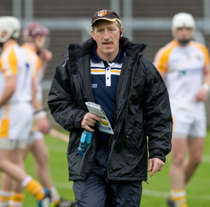 Almost there: Kevin Ryan insists it's only little things that need to be tweaked to get Antrim back to winning form