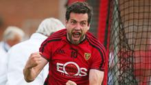 Old hand: Kevin McKernan's vast experience will help bolster the Down defence against Cork