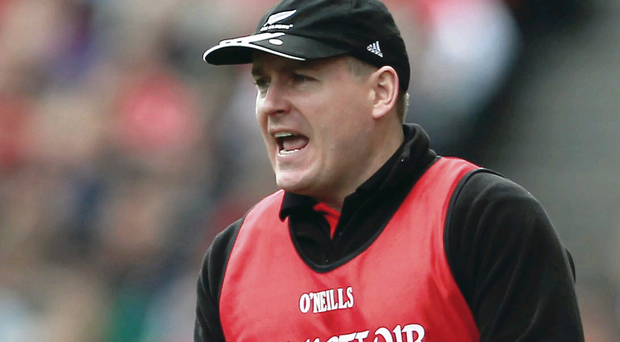 James McCartan, pictured during the 2012 All-Ireland final, has instilled a never say die attitude amongst the Down squad