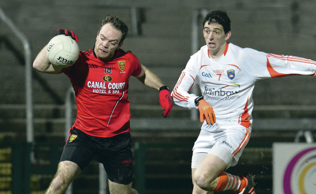 Down's Ryan Mallon is likely to be in midfield for tonight's league clash with Armagh