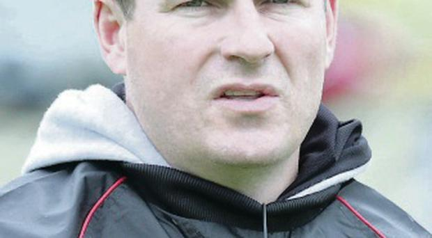 Game on: James McCartan will be looking on at Burren
