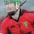 Red Mist: Fintan Conway was sent off for Down against Meath