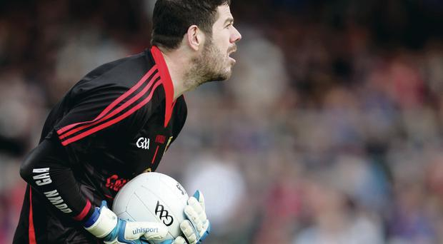 Pressure point: Down's long-serving Brendan McVeigh believes that goalkeepers have a bigger role to play in the Ulster Championship