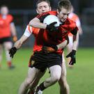 Big player: Paul Devlin is a driving force for Mourne side