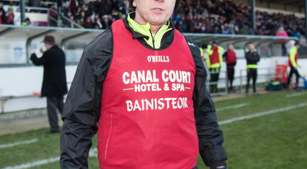 Down manager Jim McCorry