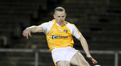 Fresh test: Paddy Cunningham is excited to return to Antrim's colours