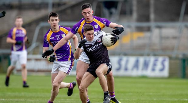 Glory drive: Kilcoo's Aaron Branagan has the Ulster Club title in his sights