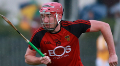 Ulster goal: Chris Egan is keen to see Ballycran lift the provincial senior club hurling title