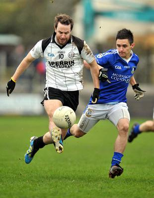 Well placed: Connor O'Donnell (left) says Omagh are in good stead