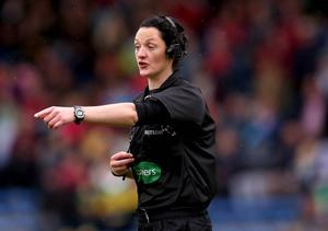 Pointer: Maggie Farrelly, first woman ref to be handed control of a county game