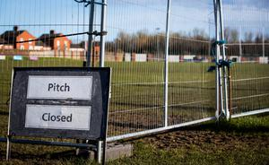 Stop there: A view of the closed St Vincents' GAA Club