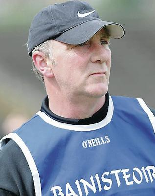 Winning formula: Ger Rogan has kept faith in his Derry players