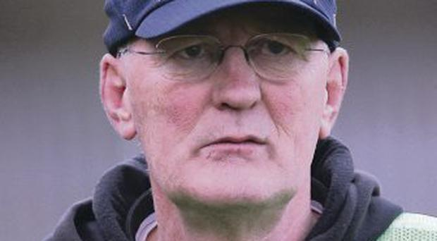 Staying put: Peter McGinnity will not be taking over at Fermanagh