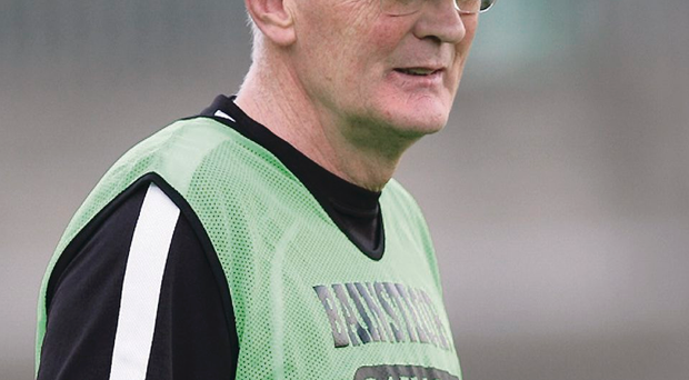 Mastermind: Peter McGinnity guided Roslea to their third Fermanagh county championship in four years