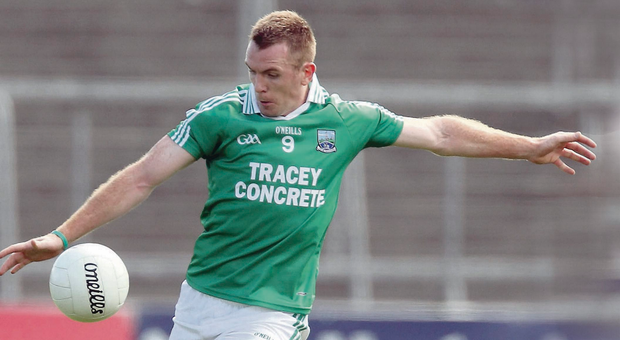 Gave his all: Marty McGrath has ended his long and distinguished Fermanagh career