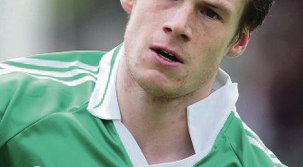 Scoring touch: Tomas Corrigan on form for Fermanaghv