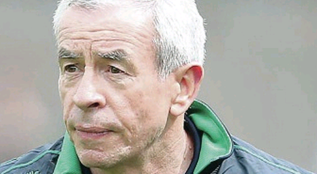 So close: Peter McGrath thought Fermanagh had stolen victory