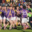 Harping back: Derrygonnelly are aiming to win a game in the Ulster Club series for the first time