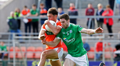 Driving force: Fermanagh skipper Eoin Donnelly aims to steer his side into the Ulster final when they meet Monaghan