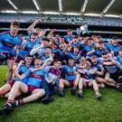 Fermanagh's finest: St Michael's players celebrate their first ever Hogan Cup after a tight, but deserved win in Croke Park