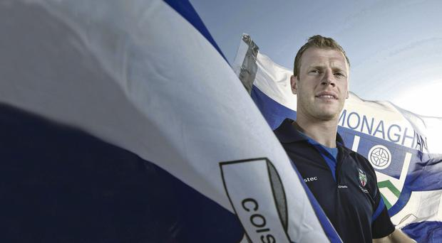 Vision on: Owen Lennon wants a winning outcome from Monaghan's clash with Tyrone at Croke Park