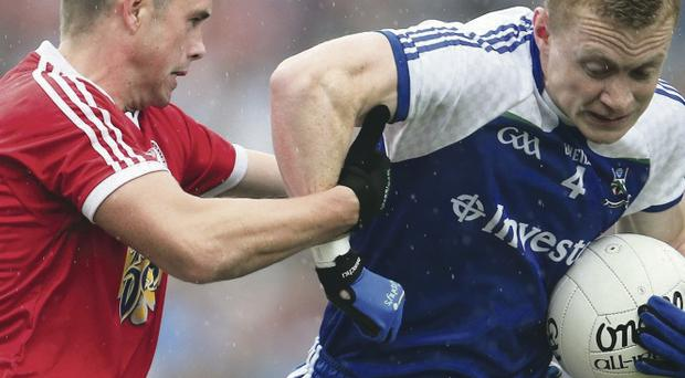 Golden year: Colin Walshe won the Ulster Championship with Monaghan before claiming an All-Star at the end of the season