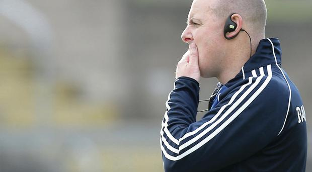 Let's go: Malachy O'Rourke is concerned at Monaghan's lack of action
