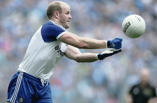 Keeping Dick: Monaghan star Dick Clerkin has shelved thoughts of retirement after a season of progress with the county team