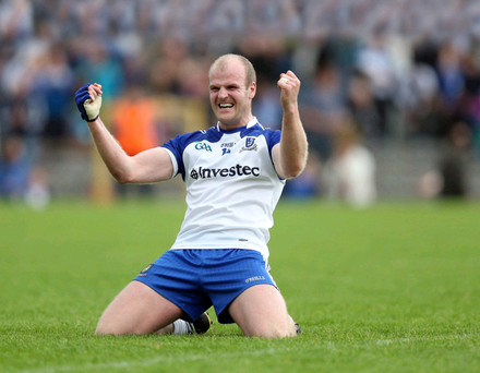 In it to win it: Monaghan stalwart Dick Clerkin has lost none of his appetite for glory over the years