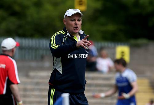 Final pointer: Monaghan boss Malachy O'Rourke