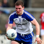 On target: Dermot Malone netted the only goal of the game