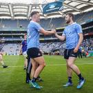 Class acts: Dublin's Ciaran Kilkenny and Jack McCaffrey have been instrumental in their dominance of the All-Ireland Championship