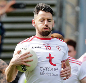 Clear aim: Matthew Donnelly relishes club and county duty
