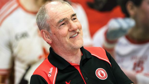 Closed shop: Mickey Harte believes only a few sides are capable of winning the All-Ireland title