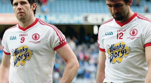 Tyrone's Sean Cavanagh (left) is set to skipper Tyrone against Roscommon and Joe McMahon could play from the start