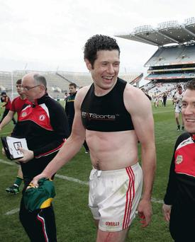 Tyrone's Sean Cavanagh after the game