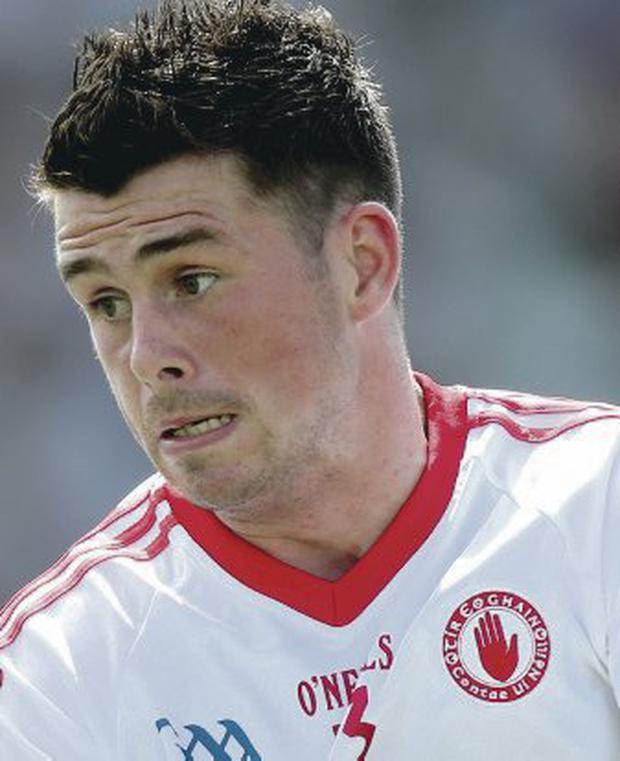 Target man: Darren McCurry has racked up 24 points for Tyrone