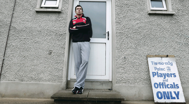 Final focus: Moy's Sean Cavanagh is eyeing club success in the Tyrone Senior Championship