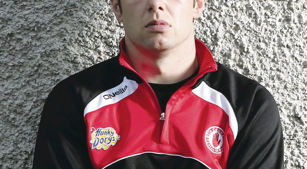 Tyrone player Sean Cavanagh at Moy GAA