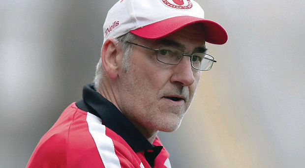 Mickey Harte is aiming for a seventh McKenna Cup victory during his spell as Tyrone manager