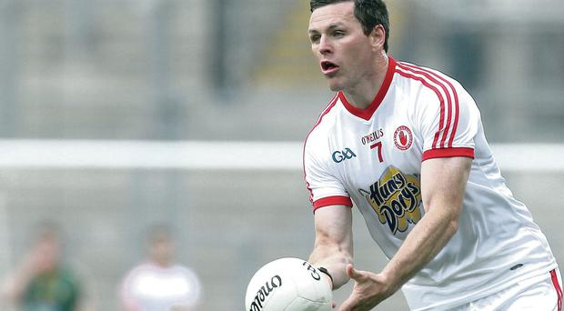 Timely return: Conor Gormley could help shore up Tyrone's leaky defence