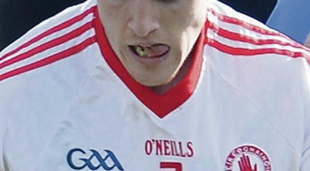 Key man: Peter Harte chips in with vital scores for Tyrone