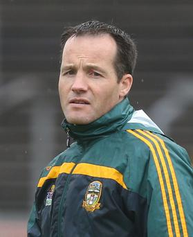 Not finished: Mick O'Dowd wants more time with Meath